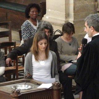 Le baptême d'une adulte - Photo SHP