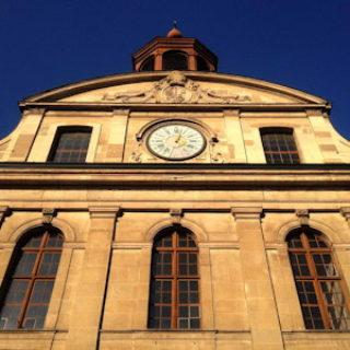 Façade du temple de la Fusterie à Genève - photo epg.ch