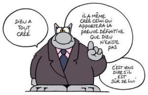 illustration - extrait d'une bande dessinée de Philippe Geluk