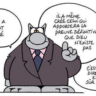Extrait d'une bande dessinée de Philippe Geluk