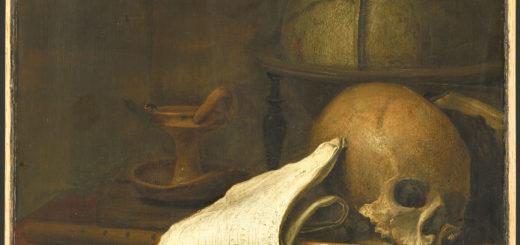 """Une """"vanité"""" peinture aidant à méditer - Pieter Symonsz Potter, Vanitas stilleven, 1646, Rijksmuseum"""