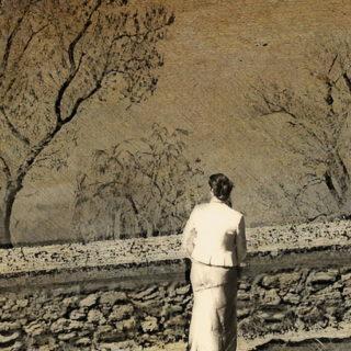 Femme qui regarde le Rhin couler (illustration) - http://www.flickr.com/photos/93608894@N02/8637264123 Found on flickrcc.net
