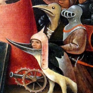 Extrait du Jugement dernier de Jérôme Bosh (XVe siècle)