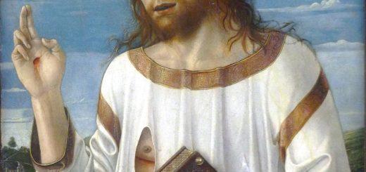 Bellini Christ bénissant - Musée du Louvre, wikicommons