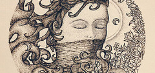 dessin d'art avec une femme à la bouche couverte d'un voile illustration - http://www.flickr.com/photos/20923559@N06/12231759355 Found on flickrcc.net