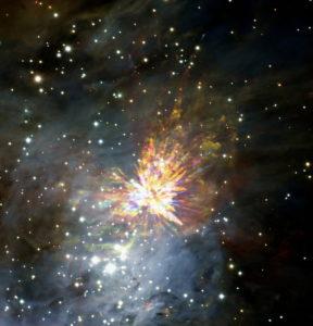 Explosion dans la nébuleuse d'Orion (illustration d'explosion de douleur)- http://www.flickr.com/photos/24354425@N03/33925524055 Found on flickrcc.net