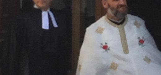 Cérémonie œcuménique de mariage entre un protestant et une orthodoxe.