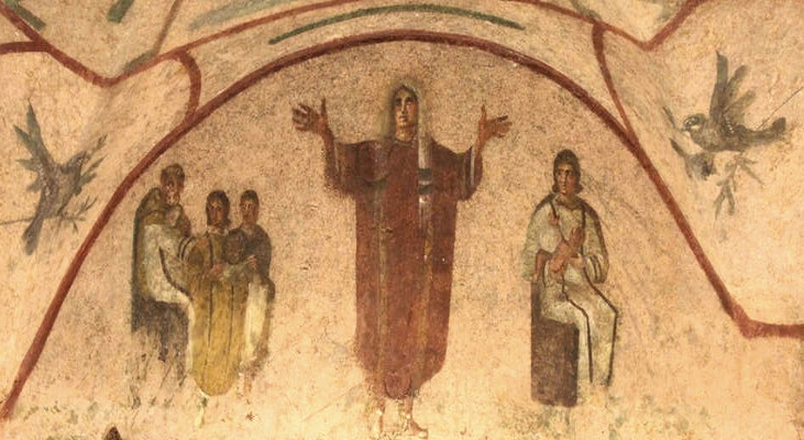 Les femmes dans le christianisme Orante