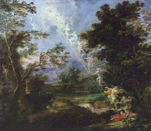 L'échelle de Jacob selon Willmann (1630 -1706)