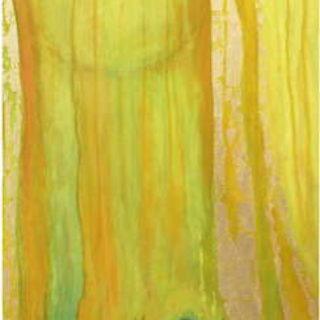 Peinture de Corinne Vonaesch « Marie au tombeau » (Jean 20)