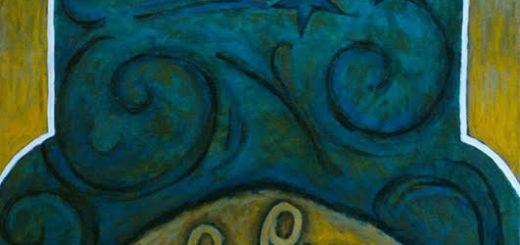 "Peinture de Peinture de Corinne Vonaesch ""Nativité"""