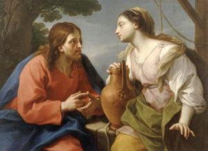 Parrocel - Jésus et la femme samaritaine - Musée Fesch Ajaccio