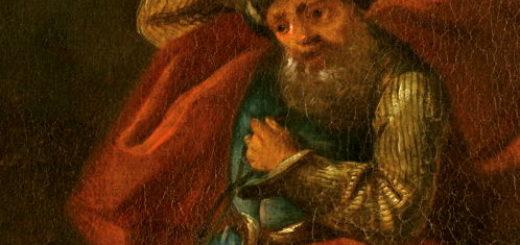 Peintre du 17e : Bileam und die Eselin
