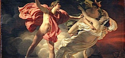 Drolling : Orphée et Eurydice (1820) Wikicommons