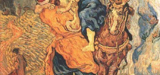 """Van Gogh : illustration de la parabole du """"bon samaritain"""" de Jésus"""