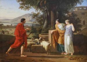 Louis Gauffier : Jacob venant trouver les filles de Laban (1787, Musée du Louvre)
