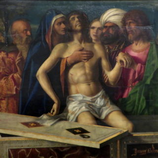 "Giovanni Bellini ""enterrement du Christ"", Tolède"