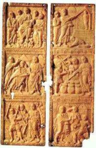 image chrétienne des premiers siècles : scènes de vie du Christ