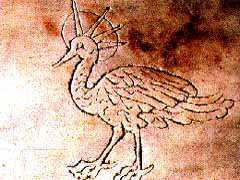 image chrétienne des premiers siècles : Phénix, symbole repris pour la résurrection