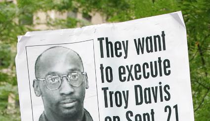 illustration : manifestation pour que Troy Davis ne soit pas exécuté - photo David Shankbone (wikicommons)