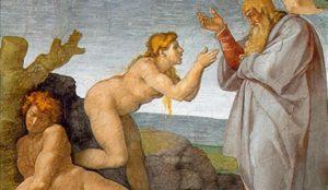 La Création d'Ève, 1509-1510, Michel-Ange, Vatican