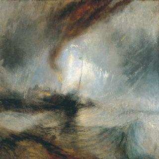 Turner : tempête de neige en mer (1842) wikicommons - Tate Britain - Londres