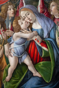 Illustration : Botticelli, Marie et son enfant, Florence -  Image: 'Detail from Madonna with Child and Six Angels'  http://www.flickr.com/photos/33563858@N00/39940939930 Found on flickrcc.net