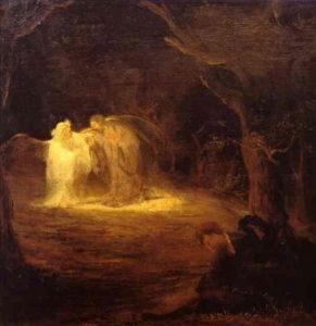 Christ au mont des Oliviers - Peinture de Aert de Gelder (1645-1727)