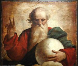 Bénédiction de Dieu le Père - (Luca Cambiaso, XVIe siècle)