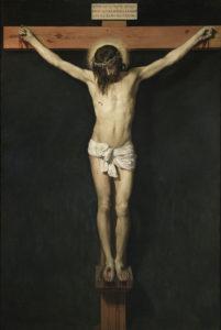 Christ crucifié (peinture de Vélasquez vers 1632)
