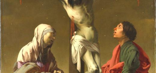 La Crucifixion avec la Vierge et saint Jean ,v. 1624–1625 Hendrick ter Brugghen, Hollandais, 1588–1629