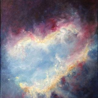 Peinture de Anne-Christine Menu « La lumière incréée »