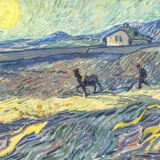 Van-Gogh - extrait du Laboureur