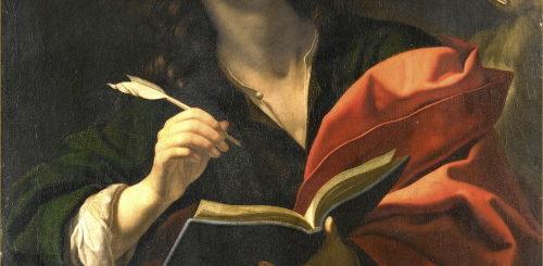 Peinture de Dolci - saint-Jean l'évangéliste (v.1670)