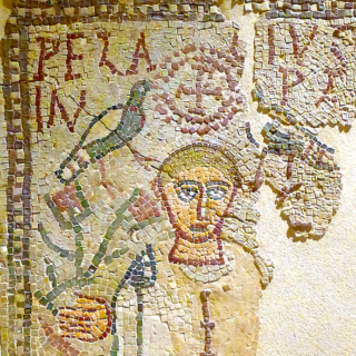 Mosaïque de Pélage, fin IVe siècle, Musée du Louvre