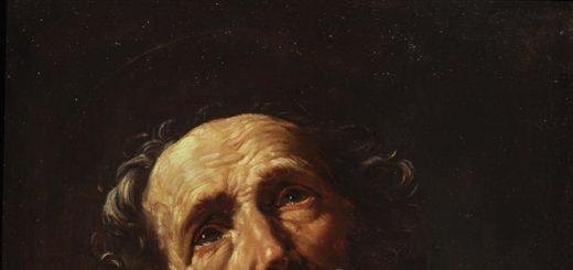 Saint Pierre pénitent par Guido Reni vers1600