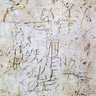 graffiti d'Alaxamenos - wikicommons