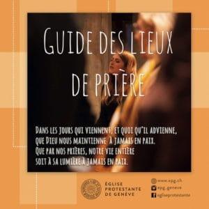 Guide des lieux de prière