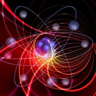 images de courbes lumineuses évoquant des trajectoires de particules - Image par Gerd Altmann de Pixabay