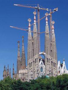 La Sagrada Familia, toujours en chantier - Image par Peggy und Marco Lachmann-Anke de Pixabay