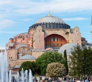Sainte Sophie à Constantinople - Image Pixabay