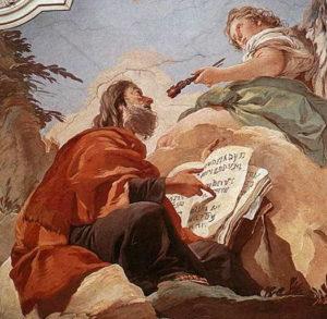 Peinture de Tiepolo représentant un prophète