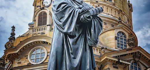 statue de Luther à Dresde - Image parPeter H de Pixabay