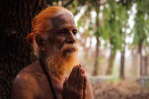 image d'un sage indou - Image par Mihir Upadhyay de Pixabay