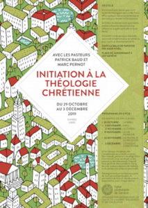 affiche du cycle de théologie 2019