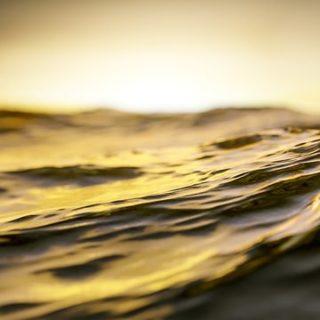 une vague sur la mer, dorée par le soleil - Image par ma13gann de Pixabay