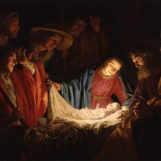 File:Gerard van Honthorst - Adoration of the Shepherds (1622)