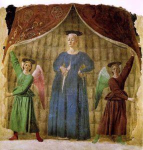 Marie enceinte - Madonna del Parto (Piero della Francesca)