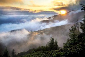 aube en montagne - Image par skeeze de Pixabay