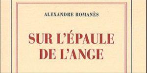 """couverture du livre """"sur l'épaule de l'ange"""" de Romanès"""